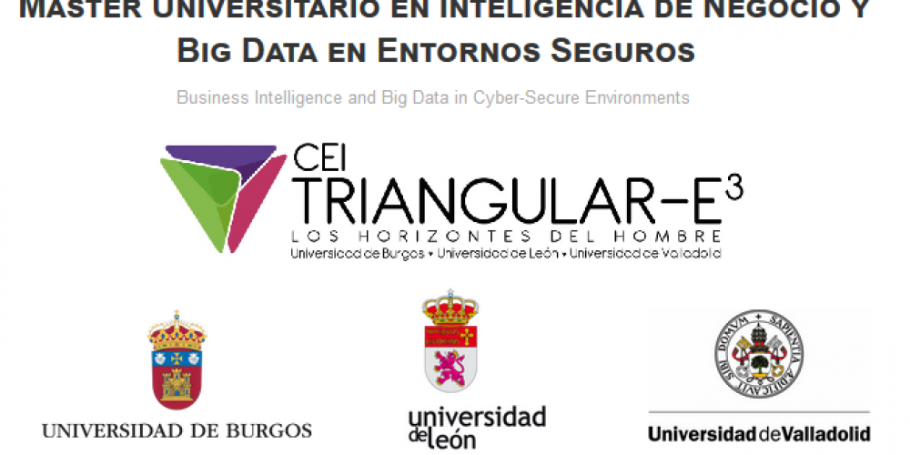 Máster Universitario en Inteligencia de Negocio y Big Data en Entornos Seguros