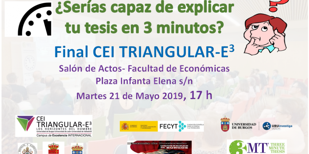 FINAL CEI Triangular-E3 del concurso 3 Minutos Tesis